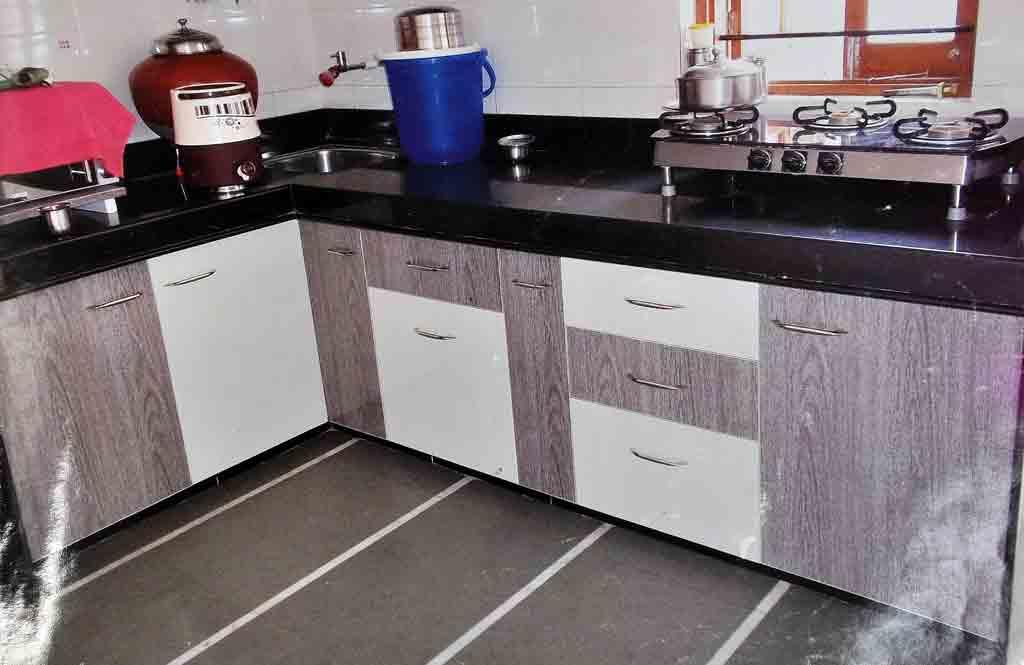 Modular PVC kitchen Furniture in Ahmedabad | KAKA, Sintex ...