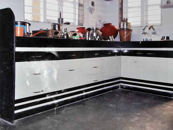 Modular PVC Designer kitchen Furniture in Ahmedabad | KAKA ...