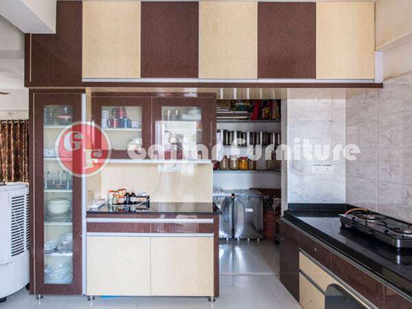 Furniture Design Kitchen modular pvc designer kitchen furniture in ahmedabad | kaka, sintex