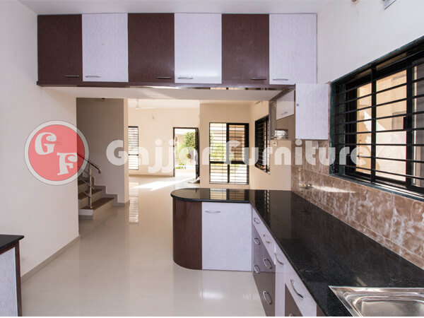 Awesome Modular Color Combination PVC Kitchen