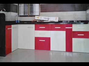 High Quality Modular Color Combination PVC Kitchen Part 19