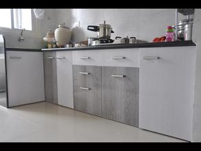 Modular Pvc Designer Kitchen Furniture In Ahmedabad Kaka