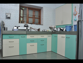 Modular Pvc Designer Kitchen Furniture on false ceiling designs
