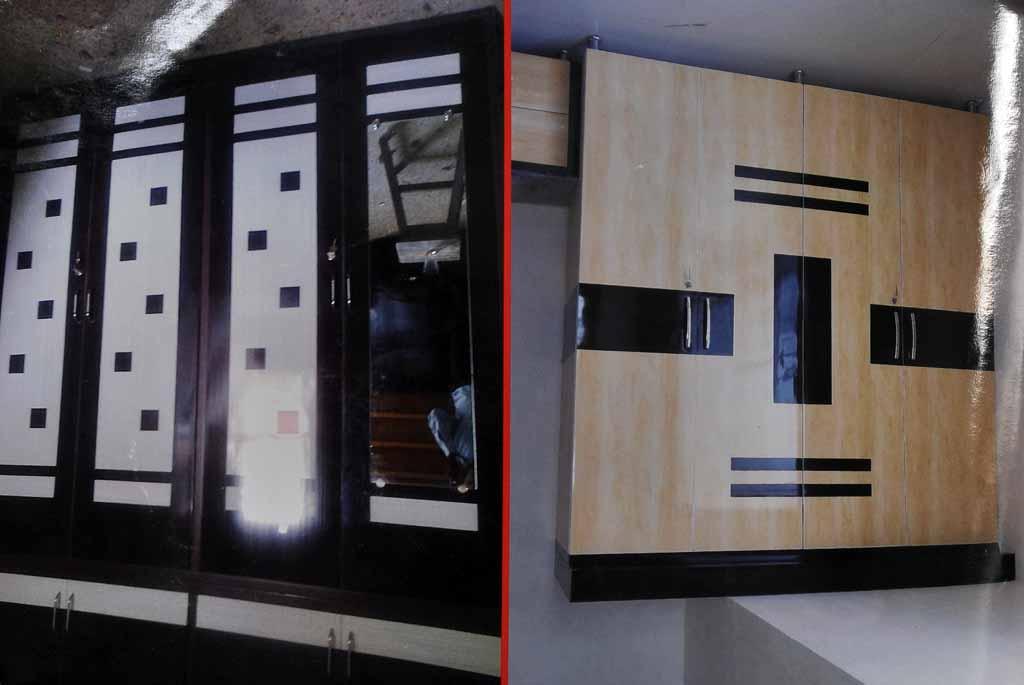 Modular Pvc Wardrobe Furniture In Ahmedabad Kaka Sintex