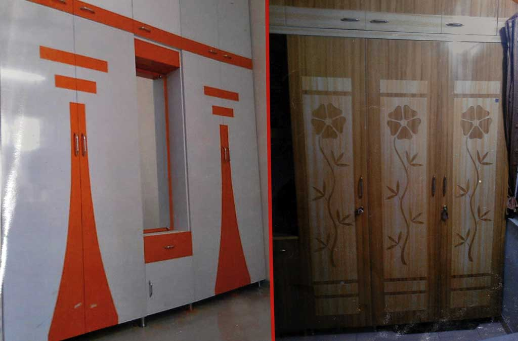 Modular Pvc Wardrobe Furniture In Ahmedabad Kaka Sintex