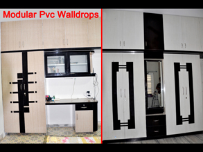 Modular pvc wardrobe furniture in ahmedabad kaka sintex for Kitchen farnichar dizain