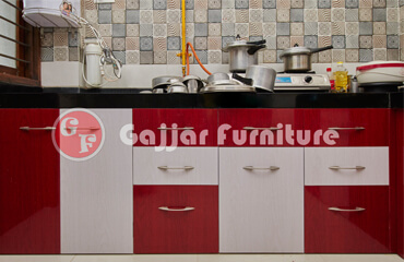 Modular PVC Kitchen Furniture Ahmedabad