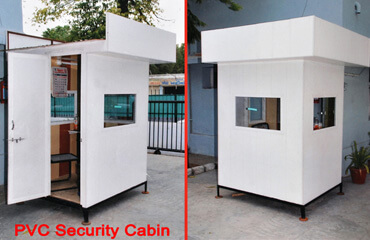 PVC security cabin manufacturing Ahmedabad