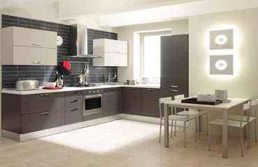 Regular Pvc Designer Kitchen Furniture In Ahmedabad Kaka Pvc Modular Kitchen Icon Interiors