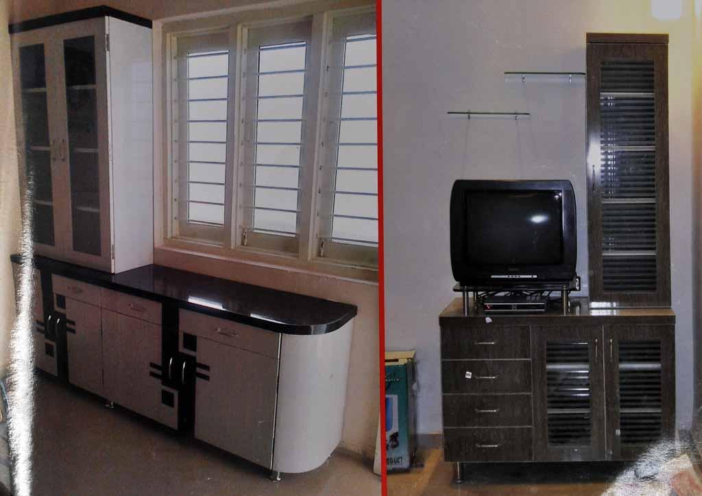 Modular Pvc Tv Unit Furniture In Ahmedabad Kaka Sintex Pvc