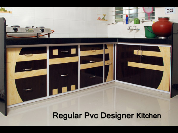 Contact Us On 9712906027 · Regular PVC Designer Kitchen