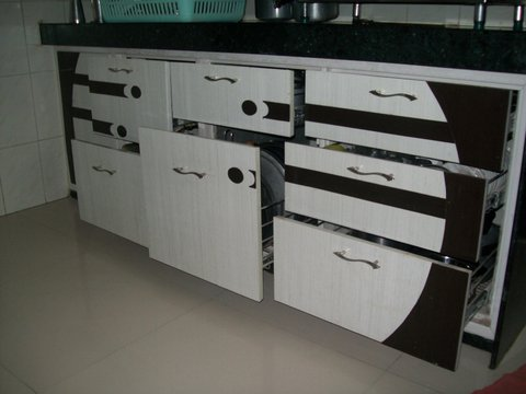 Regular PVC Designer Kitchen Part 36