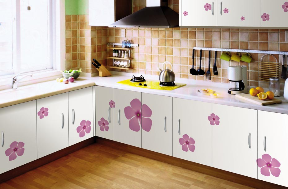 Regular pvc designer kitchen furniture in ahmedabad kaka for Kitchen furniture images