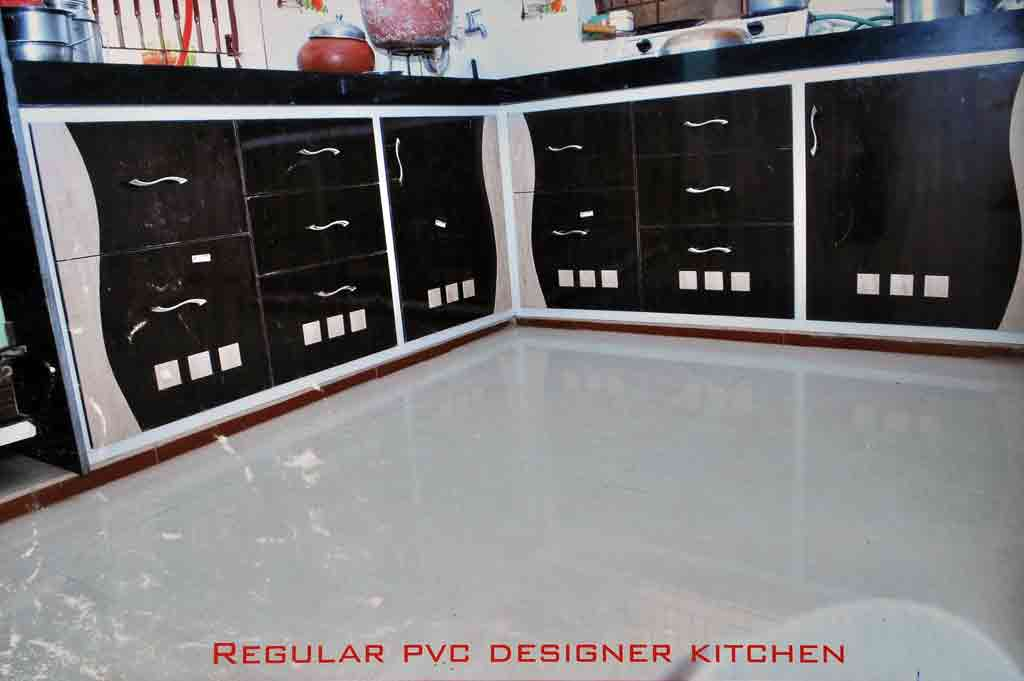 Regular PVC Designer Kitchen Part 45