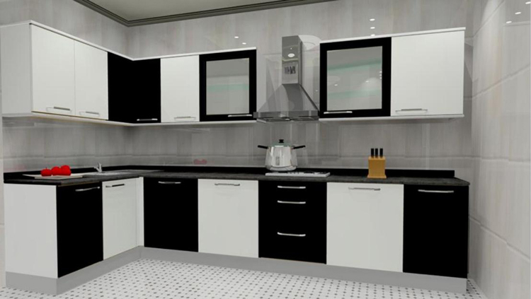 Etonnant Elegant Regular PVC Kitchen Part 4